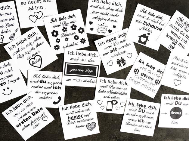 100 Gründe Warum ich dich liebe | idaviduell