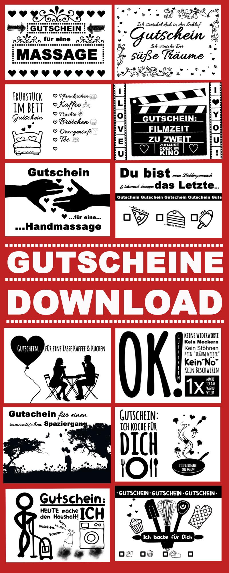 Valentinstag Gutscheine Das Perfekte Geschenk Als Download