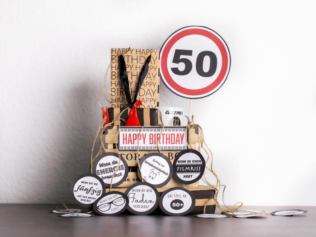 Geschenk zum 50. Geburtstag