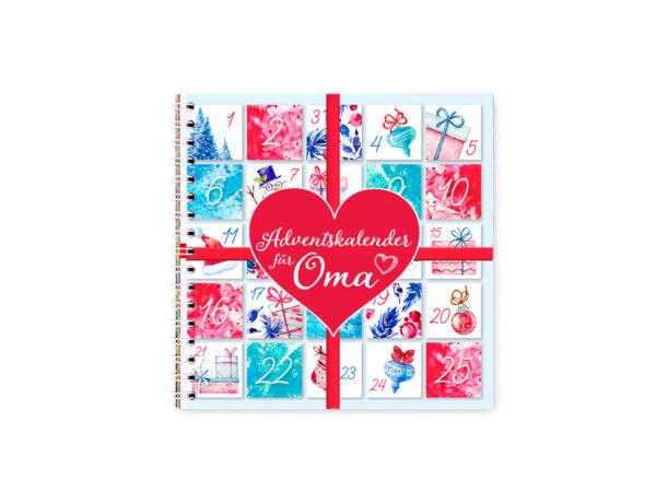 adventskalender ohne schokolade fuer oma mit spruechen geschenkidee unter 20 euro
