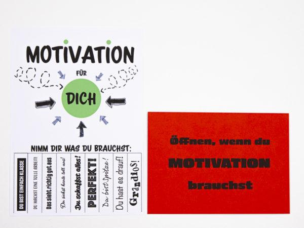 Öffnen Wenn Briefe Geschenk für Kollegen Öffnen wenn du Motivation brauchst
