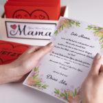 öffnen wenn briefe für mama liebevolle Geschenkidee zum Muttertag