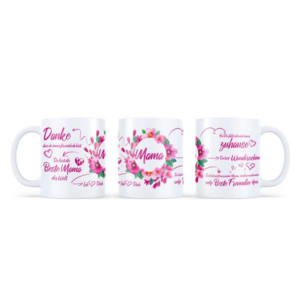 Diese Tasse ist das perfekte Geschenk für deine Mama zum Geburtstag