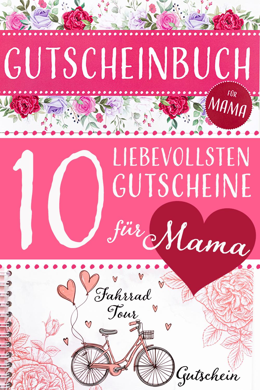 10 Gutscheine für deine Mama als Geschenk zum Muttertag